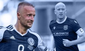 Leigh Griffiths and Charlie Adam.