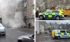 The fire happened on Albert Street.