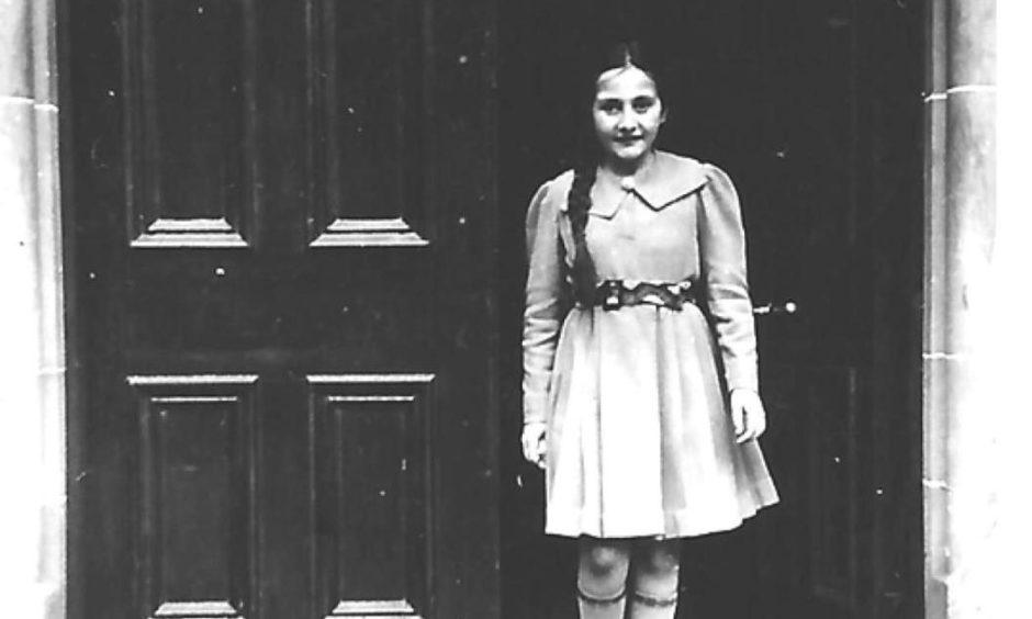 Erika Schulhof arrived in Aberdeen in the summer of 1939.