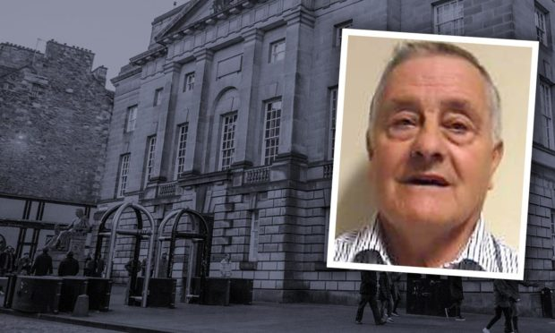 Eric Simpson was convicted after trial at the High Court in Edinburgh