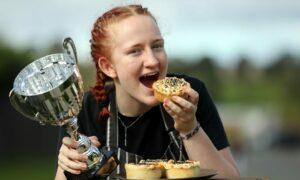 Anya Sturrock won Best Young Piemaker at the awards.