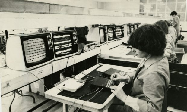 The Timex factory produced the computers which made Sir Clive Sinclair millions.