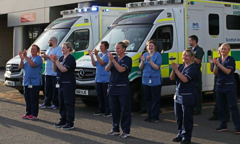 "Nicola Sturgeon says Scotland owes the NHS ""immense gratitude"". Photo: PA"