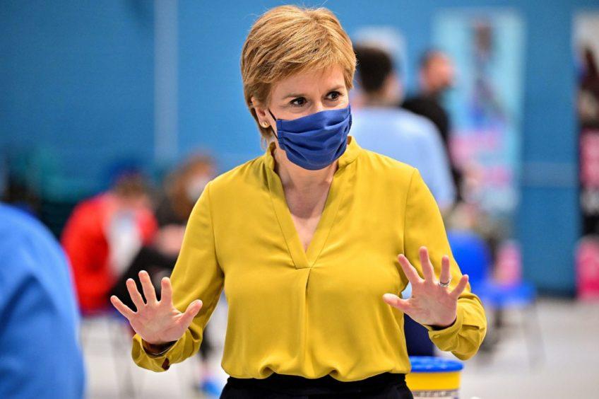 Covid Scotland Nicola Sturgeon