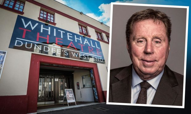 Harry Redknapp is heading for the Whitehall Theatre.