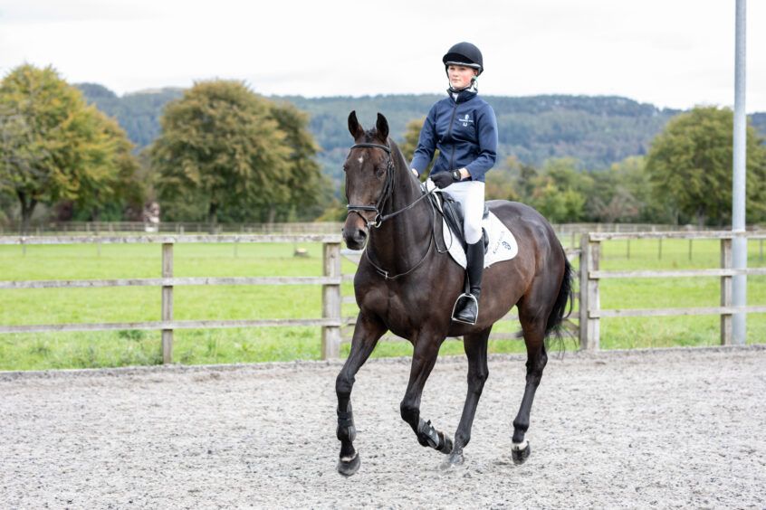 Kilgraston School horse riding