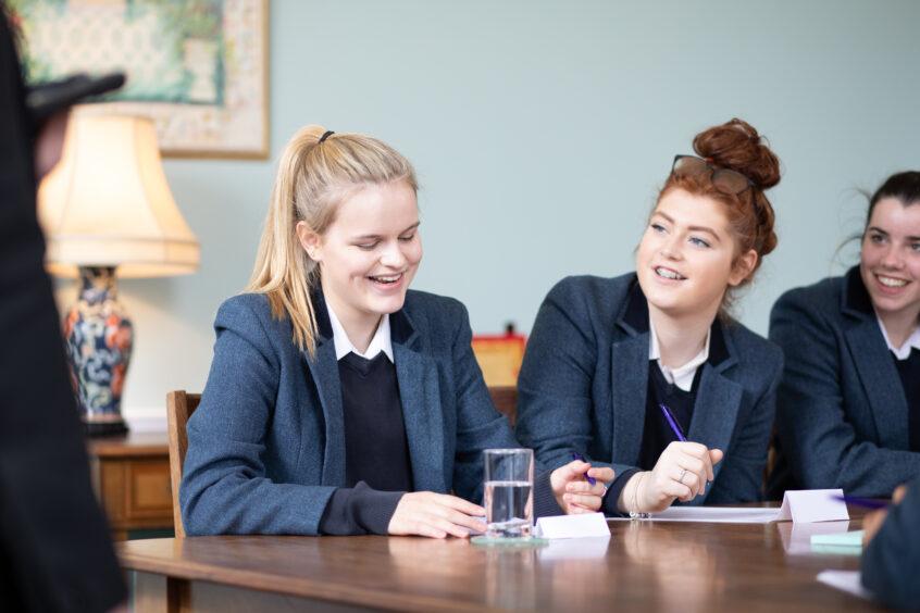 Kilgraston School girls - combining traditional values with innovative ideas