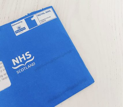 Appointments will land in the distinctive blue envelopes