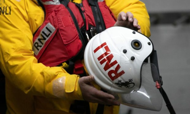 Montrose RNLI were launched during the early hours of Sunday morning to assist police in a search for a missing person.