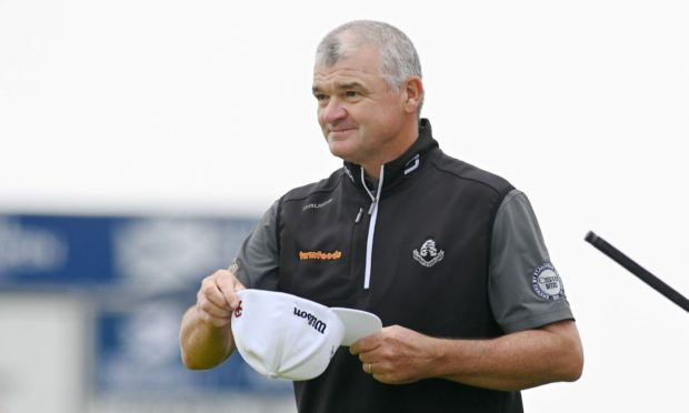Paul Lawrie is three under par after his first round