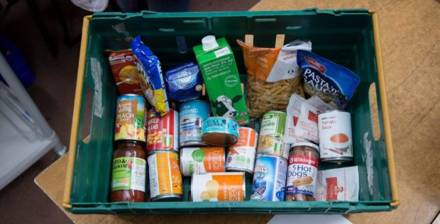 Simpson's partner was forced to turn to foodbanks we he spent her money on drugs.