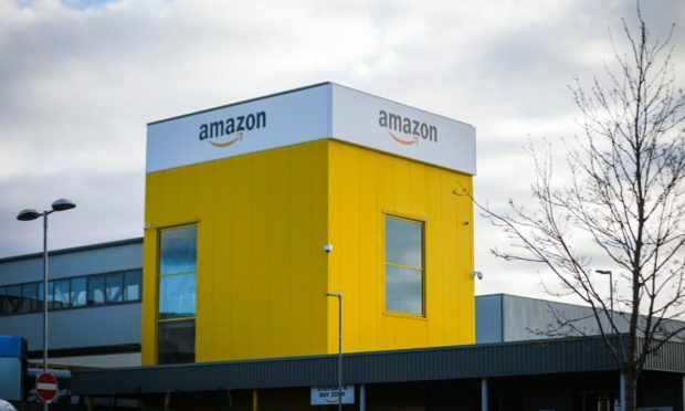 Amazon employs more than 1,000 staff at its warehouse in Dunfermline.