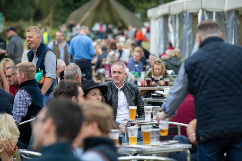 Thousands turned out for the Scottish Game Fair.