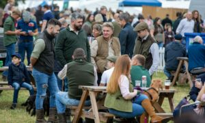 Thousands tuned out for the Scottish Game Fair.