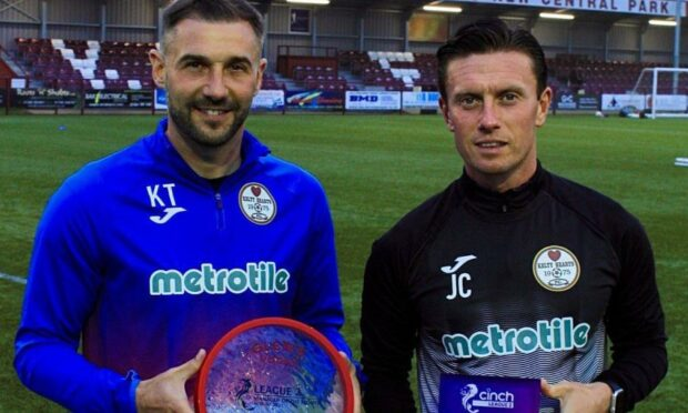 Winners: Thomson and Cardle