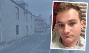 Kieran Fletcher targeted the car in Hay Street, Coupar Angus