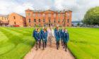 Kilgraston pupils returned to school on Monday alongside headmistress Mrs MacGinty.