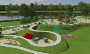 How the new play park could look.