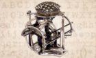 Malling-Hansen typewriter (Auction Team Brecker, Cologne).