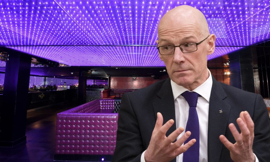 The Scottish Government is still to define what a nightclub is.