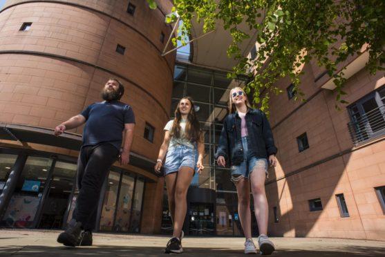 studying Dundee Abertay University
