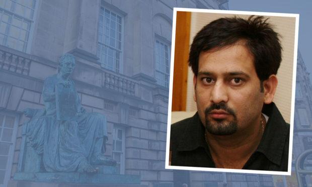 Ghulam Bajwa was jailed at the High Court in Edinburgh.