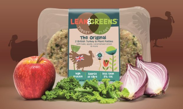 Lean & Greens has invested £1m in a new range of burgers, sausages and meatballs.