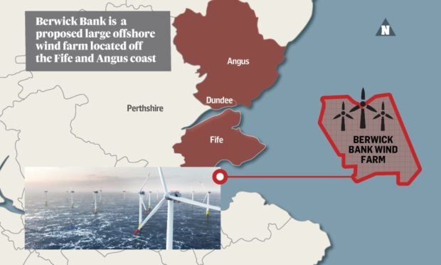 Berwick Bank wind farm.