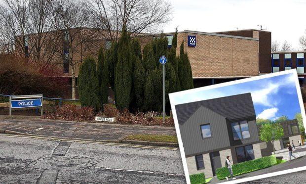 Glenrothes police station