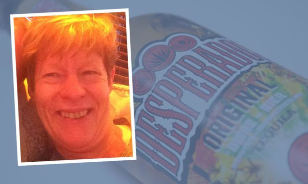 Norma Cromer was spotted swigging Desperados before driving.