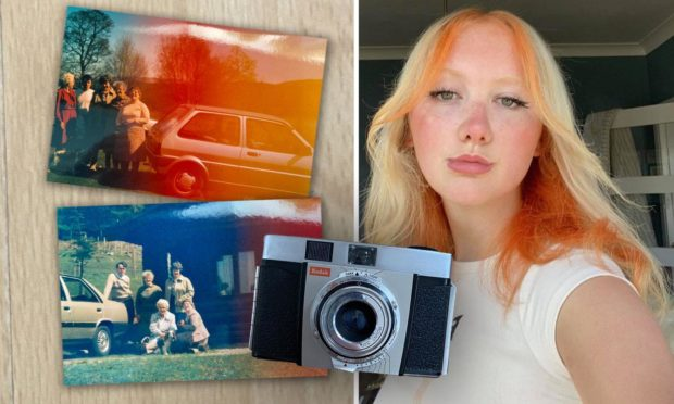 Jodi Keir found the old photos on a camera she bought at a charity shop.