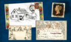 Fife man's stamp collection