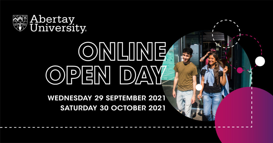 Studying Dundee Abertay University: open day