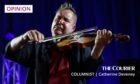 Mandatory Credit: Photo by Rafal Guz/EPA/Shutterstock (8792014c) Nigel Kennedy Nigel Kennedy in concert in Warsaw, Poland - 06 May 2017 British violinist Nigel Kennedy (L) performs on stage with the Cappella Gedanensis band during their concert in Warsaw, Poland, 06 May 2017.