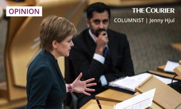 First Minister Nicola Sturgeon and Health Secretary Humza Yousaf.