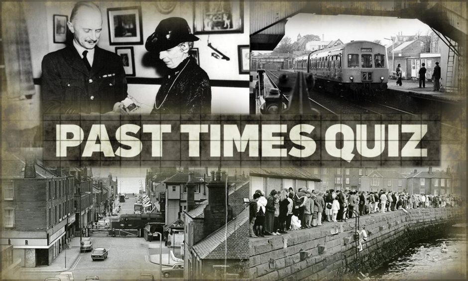Test your Broughty Ferry knowledge with our Past Times Quiz.