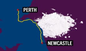 Dewar shipped the cocaine from Newcastle and was intercepted outside Perth