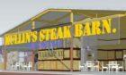 The steak barn and farm shop plan was originally knocked back last December.