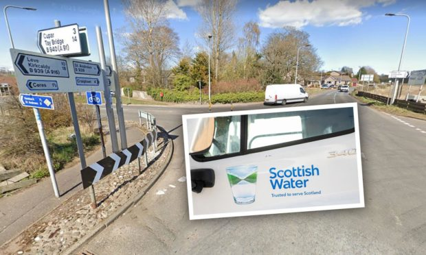 Scottish Water mains replacement work to last for 14 weeks.