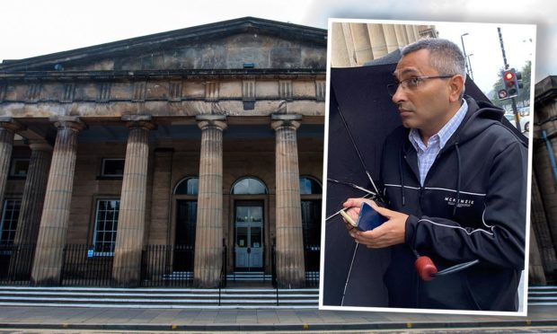Ravinder Kumar was on trial at Perth Sheriff Court.
