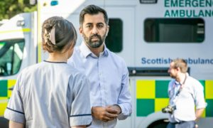 Health Secretary Humza Yousaf will update MSPs on Tuesday on the situation facing the Scottish Ambulance Service.