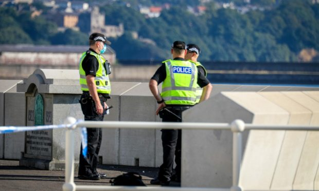 Police were called to the scene on Wednesday morning.