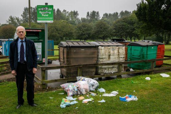 illegal dumping fife