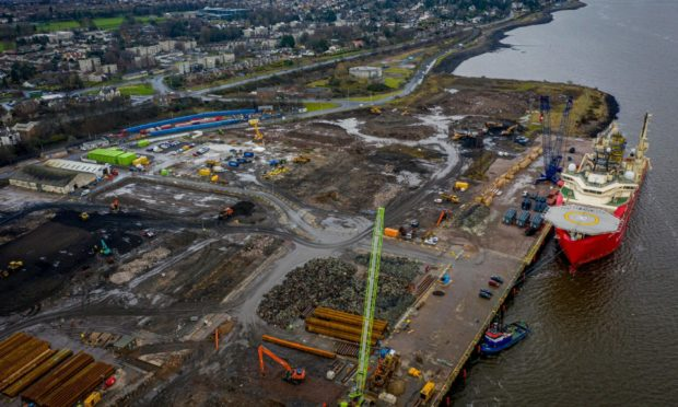 Port of Dundee has undergone a £40m investment.