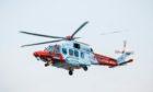 A coastguard helicopter scoured the area on Sunday night.