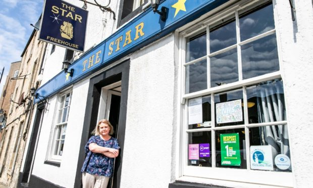 Fife publicans, including Morag Douglas of the Star, call for reduced annual license fees after being fully charged for the year.