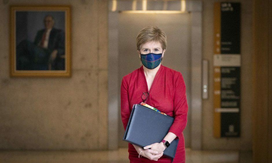 First Minister Nicola Sturgeon apologised.