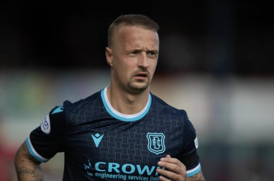 """Leigh Griffiths stands accused of """"excessive misconduct"""" by the Scottish Football Association."""
