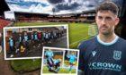 Dundee's Shaun Byrne.