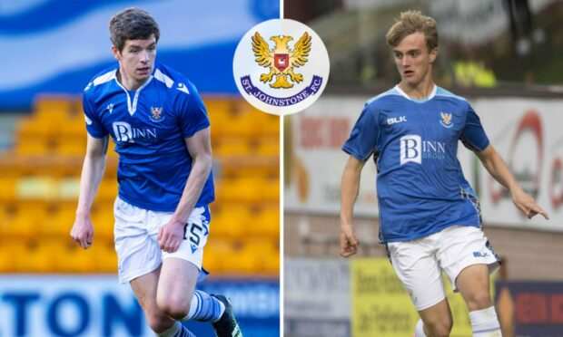 Callum Davidson has encouraged young players Charlie Gilmour and Cammy Ballantyne to make a claim for a regular St Johnstone spot.